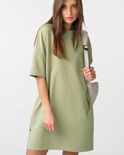 Повседневное прямое платье мини с поясом Fly
