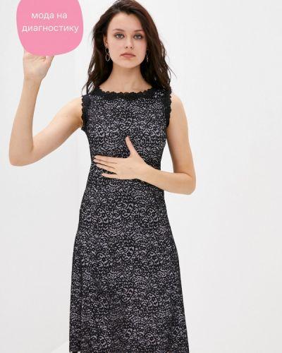 Прямое черное платье Арт-Деко