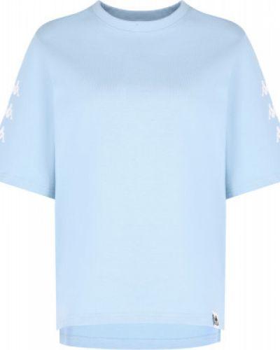 Свободная хлопковая футболка свободного кроя Kappa