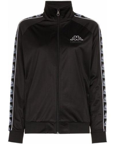 Черная длинная куртка с манжетами Charm`s