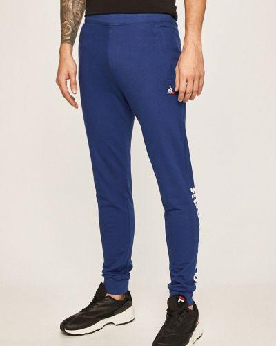 Спортивные брюки на резинке свободного кроя Le Coq Sportif