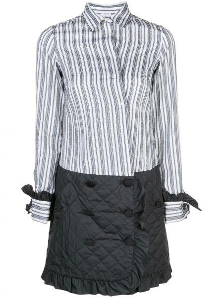Классическое платье макси с воротником с манжетами Sara Roka