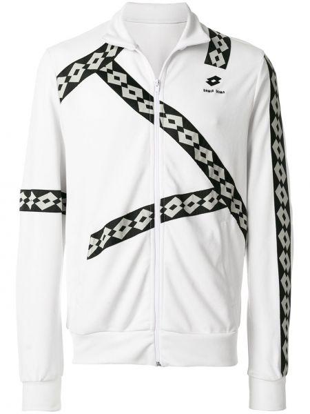Biała bluza z długimi rękawami Damir Doma