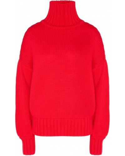Шерстяной свитер - красный Laroom