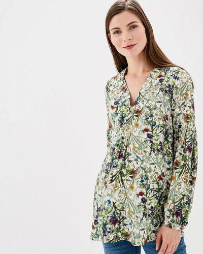 Блузка зеленый Budumamoy