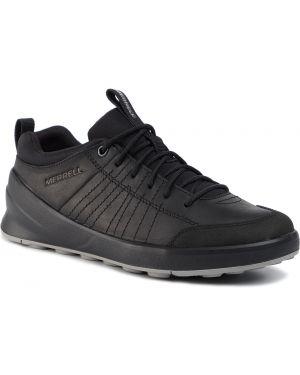 Czarne sneakersy skorzane Merrell
