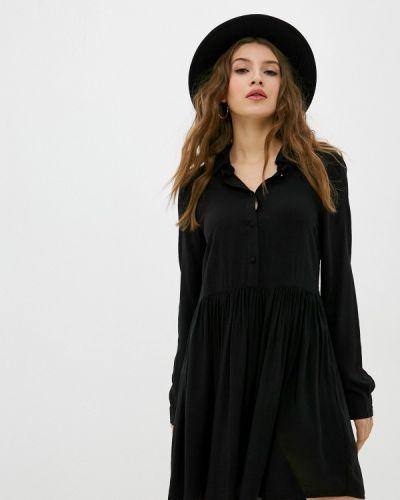 Прямое черное платье Fresh Made