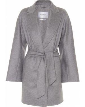 Кашемировое пальто с поясом Max Mara