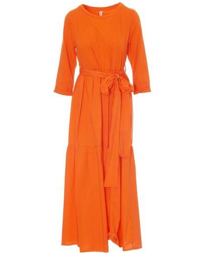 Sukienka - pomarańczowa Tensione In