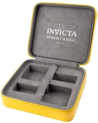 Żółta walizka Invicta