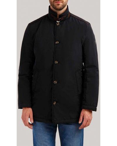 Утепленная куртка черная Finn Flare
