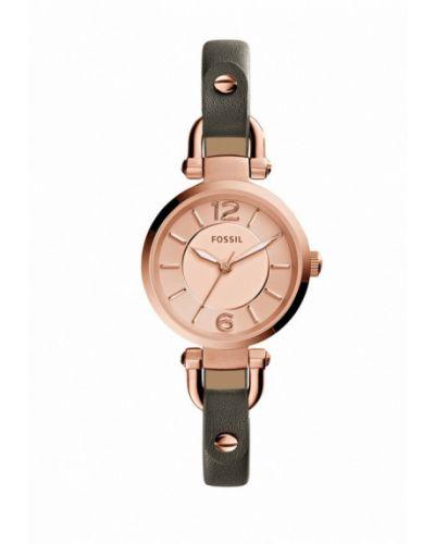 Часы зеленый весенний Fossil