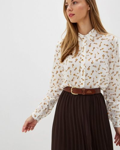 Блузка с длинным рукавом белая B.young