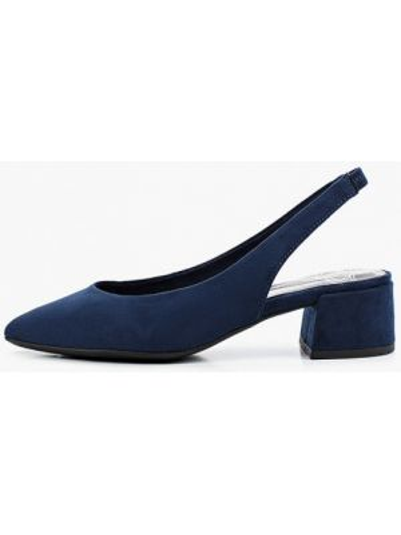 Туфли с открытой пяткой синий Marco Tozzi