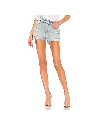 Джинсовые шорты рваные с карманами Rag & Bone