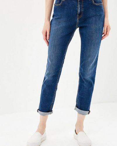 Синие прямые джинсы Gas