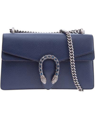 Кожаный сумка с ручками с отделениями Gucci