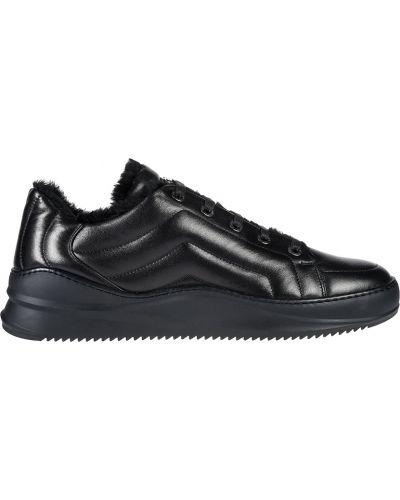 Кожаные кроссовки - черные Bogner