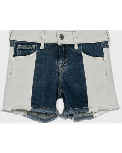 Шорты темно-синий синий Pepe Jeans