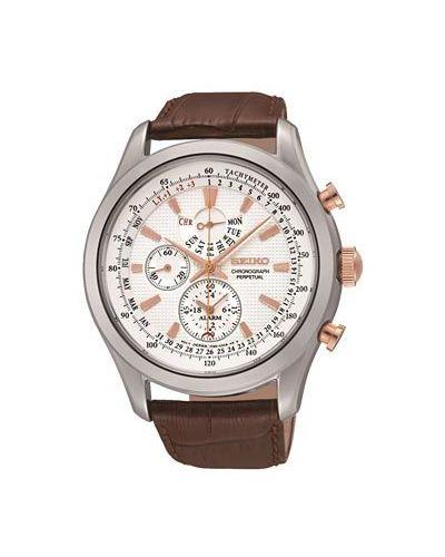 Кварцевые часы серебряный Seiko
