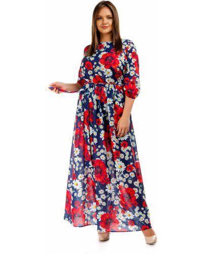 Повседневное шифоновое платье миди Liza Fashion