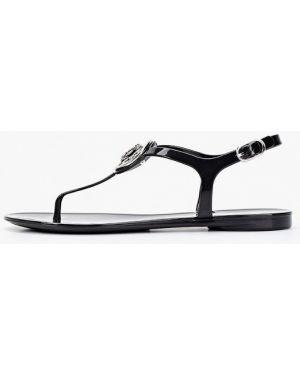 Черные сандалии Guess