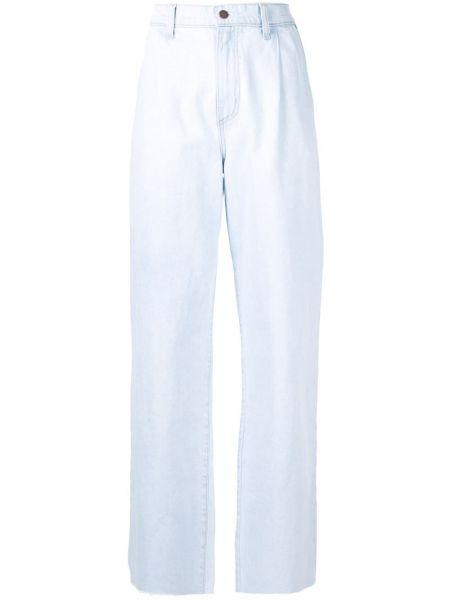 Широкие джинсы mom синие Nobody Denim