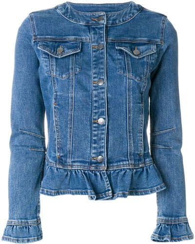 Джинсовая куртка длинная Twin-set