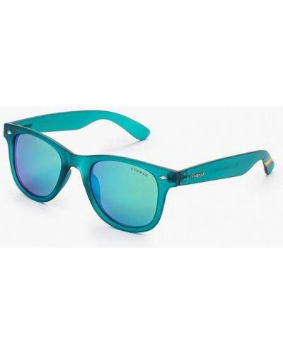 Бирюзовые солнцезащитные очки Polaroid