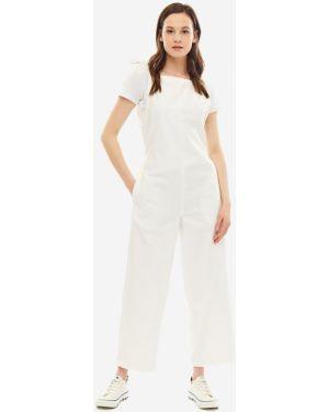 Джинсовый комбинезон белый Pepe Jeans