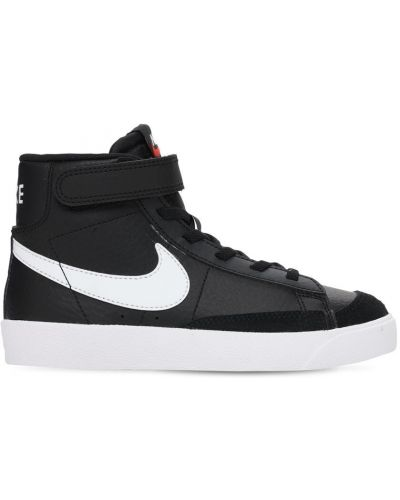 Czarna marynarka skórzana koronkowa Nike