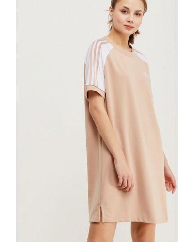 Бежевое платье Adidas Originals