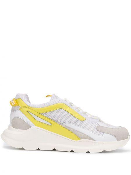 Кожаные кроссовки - белые J.lindeberg