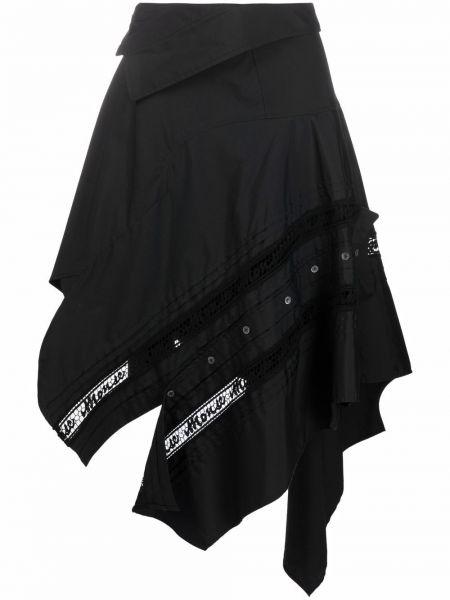 Czarna spódnica koronkowa Monse