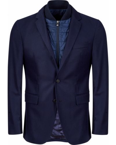 Пиджак шерстяной из вискозы Hugo Boss