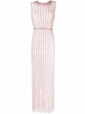 Różowa sukienka bez rękawów Jenny Packham