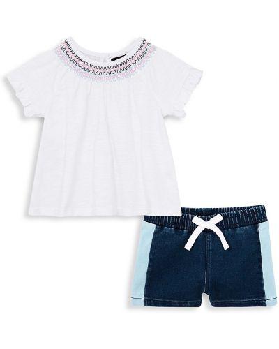 Повседневный хлопковый белый топ Joe's Jeans