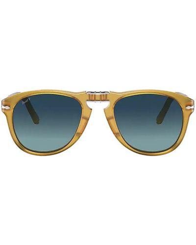 Żółte okulary Persol