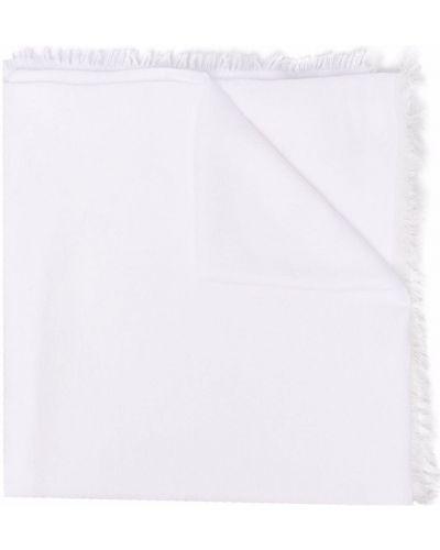 Biały szalik bawełniany Pinko