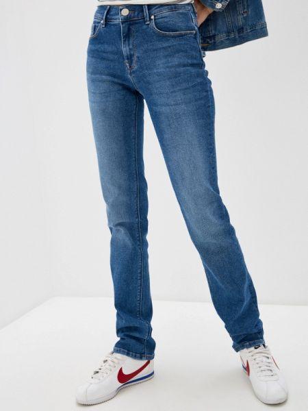 Прямые джинсы синие Whitney