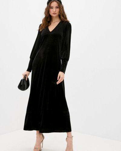 Вечернее черное вечернее платье Max&co