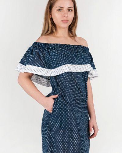 Синее платье Vergans