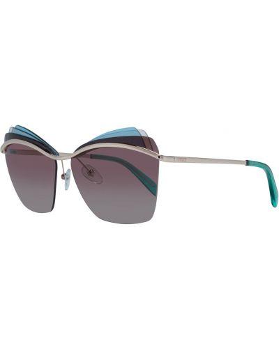 Niebieskie okulary Emilio Pucci