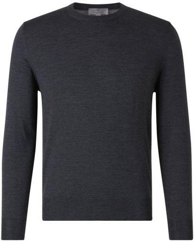 Szary sweter wełniany Canali