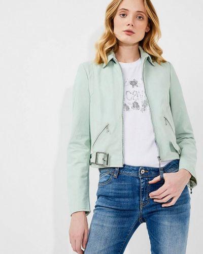Зеленая куртка весенняя Just Cavalli