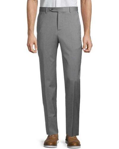 Брючные шерстяные классические брюки с карманами Zanella