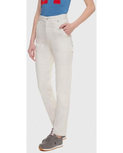 Белые классические брюки Polo Ralph Lauren