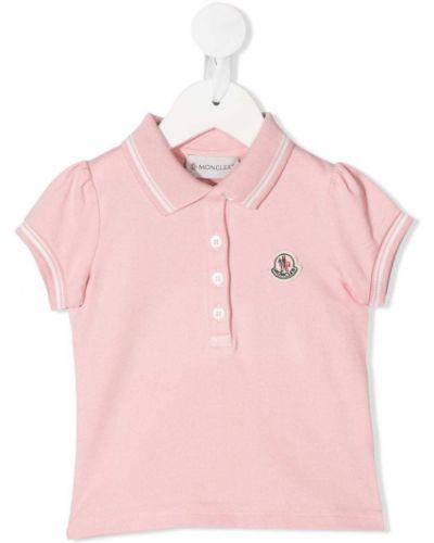 Рубашка с логотипом Moncler