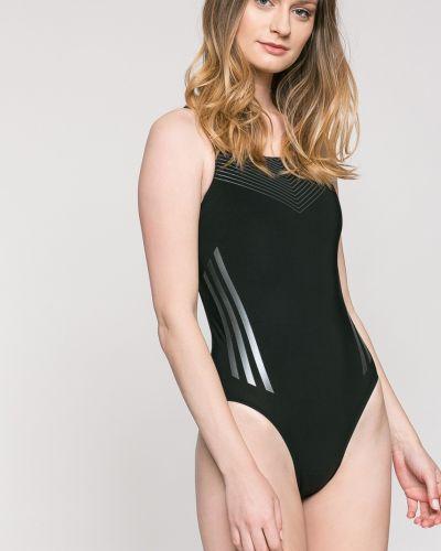 Слитный купальник черный с подкладкой Adidas Performance
