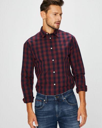 Рубашка с длинным рукавом в клетку Jack & Jones